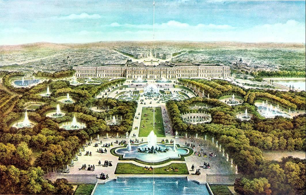 Kết quả hình ảnh cho Cung điện Versailles: