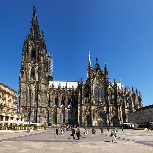 Kết quả hình ảnh cho Nhà thờ Cologne
