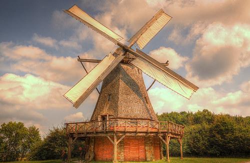 Kết quả hình ảnh cho Cối xay gió Hà Lan