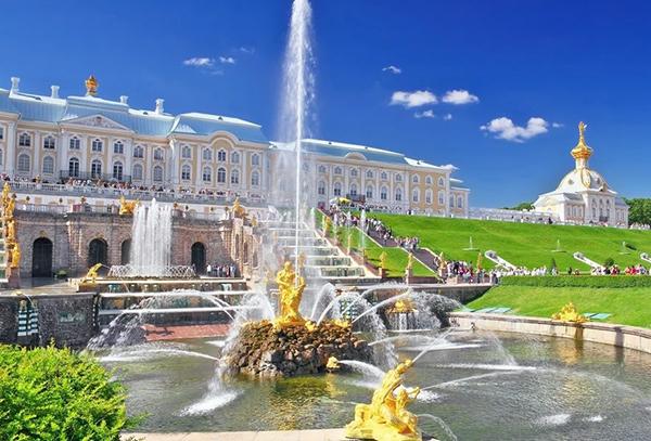 Peterhof Cascada Central