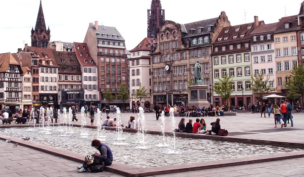 place kleber fontaine strasbourg